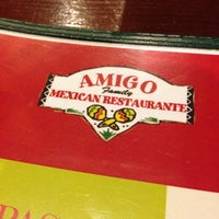 Photo taken at Amigo Family Mexican Restaurant by Marie M. on 10/21/2013