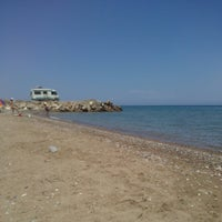 Photo taken at Αλυκές by Maria P. on 7/17/2014
