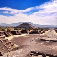 Photo taken at Zona Arqueológica de Teotihuacán by Ponch V. on 1/22/2013