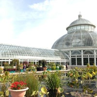 Photo taken at Enid A. Haupt Conservatory by Chelle . on 10/17/2012