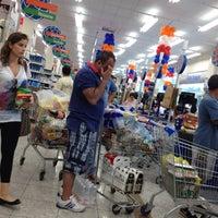 Photo taken at Supermercado Mundial by Mario A. on 10/6/2012