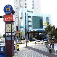 Photo taken at Jung-dong Stn. by KiJune Y. on 9/18/2013