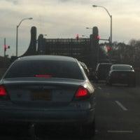 Photo taken at Pelham Bridge by Mary G. on 11/18/2012