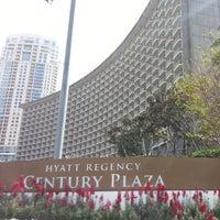 Photo taken at Hyatt Regency Century Plaza by Adrian O. on 3/30/2013