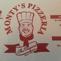 Photo taken at Monty's Pizza by Carlos A. on 2/21/2013