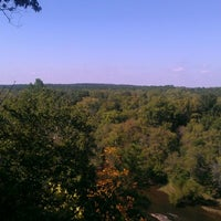 Photo taken at Raven Rock State Park by Mike V. on 10/10/2012