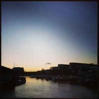 Photo taken at Brayford Wharf by Cindy C. on 12/30/2012