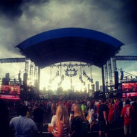 Photo taken at FirstMerit Bank Pavilion at Northerly Island by Adam L. on 6/29/2013