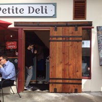 Photo taken at Petite Deli by Lucia L. on 2/11/2016