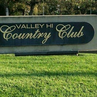 Photo taken at Valley Hi Country Club by Cceeccee G. on 9/1/2016