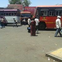 Photo taken at Satara Bus Stand by Omkkar B. on 5/5/2013