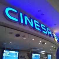 Photo taken at Cinesa Diagonal Mar by Mariela C. on 8/21/2013
