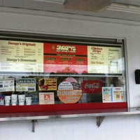 Photo taken at Snoopy's Hot Dogs & More by Michael P. on 10/26/2012