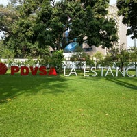 Photo taken at PDVSA La Estancia by Santiago L. on 4/19/2013