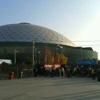 Photo taken at Movistar Arena by Julio O. on 5/10/2013
