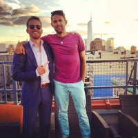 Photo taken at Meetup HQ Roof Deck by Sloane B. on 8/15/2013
