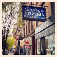 Photo taken at Patsy's Pizza - East Harlem by Sloane B. on 4/20/2013