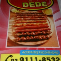 Photo taken at Churrasquinho do Dedé by Sergio S. on 5/23/2014
