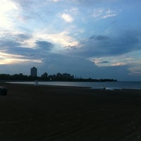 Photo taken at 63rd Street Beach by Suzanne J. on 5/31/2013