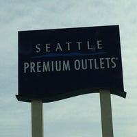 Photo taken at Seattle Premium Outlets by Eliza R. on 3/26/2013