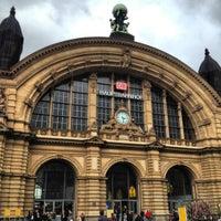 Photo taken at Frankfurt (Main) Hauptbahnhof by Nick B. on 10/4/2012