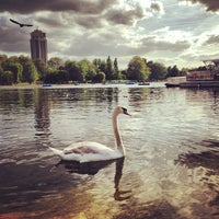 Photo taken at Hyde Park by Amer S. on 6/2/2013