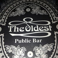 Photo taken at The Oldest Public Bar by emiliano c. on 3/6/2013