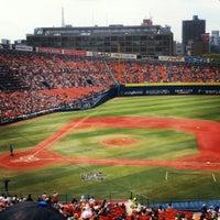 Photo taken at Yokohama Stadium by Saori M. on 6/8/2013