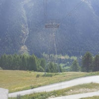 Photo taken at Wiler Luftseilbahn by Graham J. on 9/6/2014
