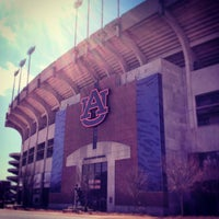 Photo taken at Pat Dye Field at Jordan-Hare Stadium by Ryan A. on 3/26/2013