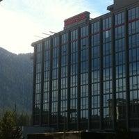 Photo taken at Harveys Lake Tahoe Resort & Casino by Michele M. on 11/2/2012