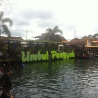 Photo taken at Umbul Ponggok by A H. on 11/26/2016