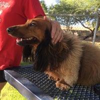 Photo taken at Shawnee Bark Park by Nicole M. on 7/30/2014