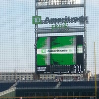 Photo taken at TD Ameritrade Park by Mike V. on 4/26/2013