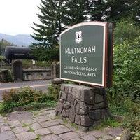 Photo taken at Multnomah Falls by James P. on 10/11/2013