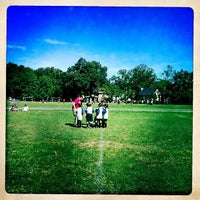 Photo taken at Stoddert Soccer @ Carter Baron Fields by Rachel C. on 9/15/2012
