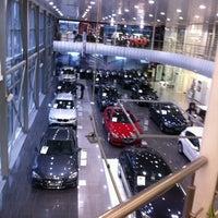 Photo taken at BMW АВТОDOM by Denis I. on 9/28/2012