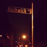 Photo taken at Bushwick by fred r. on 1/2/2013