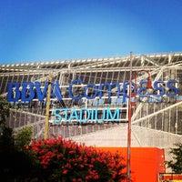 Photo taken at BBVA Compass Stadium by Joshua F. on 6/23/2013