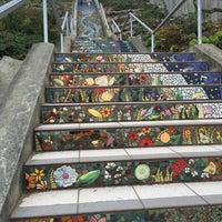 Photo taken at Hidden Garden Mosaic Steps by Rob G. on 8/27/2016