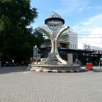 Photo taken at Zero Point of Manado by ADRY-Z on 1/26/2014