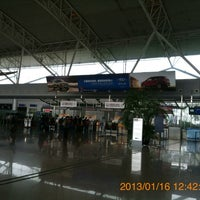 Photo taken at Ningbo Lishe International Airport (NGB) by 興成 丘. on 1/16/2013