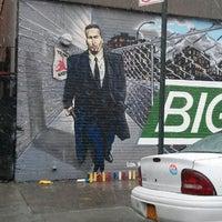 Photo taken at Big Pun Memorial Mural by Broadway Jay on 3/16/2013