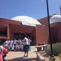 Photo taken at Flandrau Science Center and Planetarium by Marcela M. on 5/24/2014