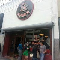 Photo taken at Nickel Diner by James C. on 10/21/2012