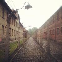 Photo taken at Auschwitz-Birkenau Museum by CarlosJNavarro R. on 5/31/2013