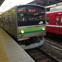 Photo taken at JR 横浜駅 3-4番線ホーム by dt9658 on 6/3/2013