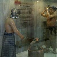 Photo taken at Museum Sumatera Utara by Vivi X. on 12/4/2012