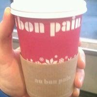 Photo taken at Au Bon Pain by David M. on 1/30/2012