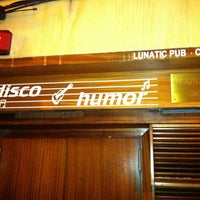 Photo taken at Lunatic Pub by Ro G. on 4/6/2012